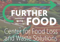 Shows further with food logo, which includes a green arrow