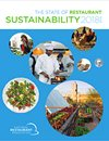 Image of chef and food for sustainability report